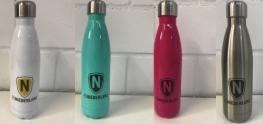 FC N Edelstahl-Trinkflasche in 4 Farben